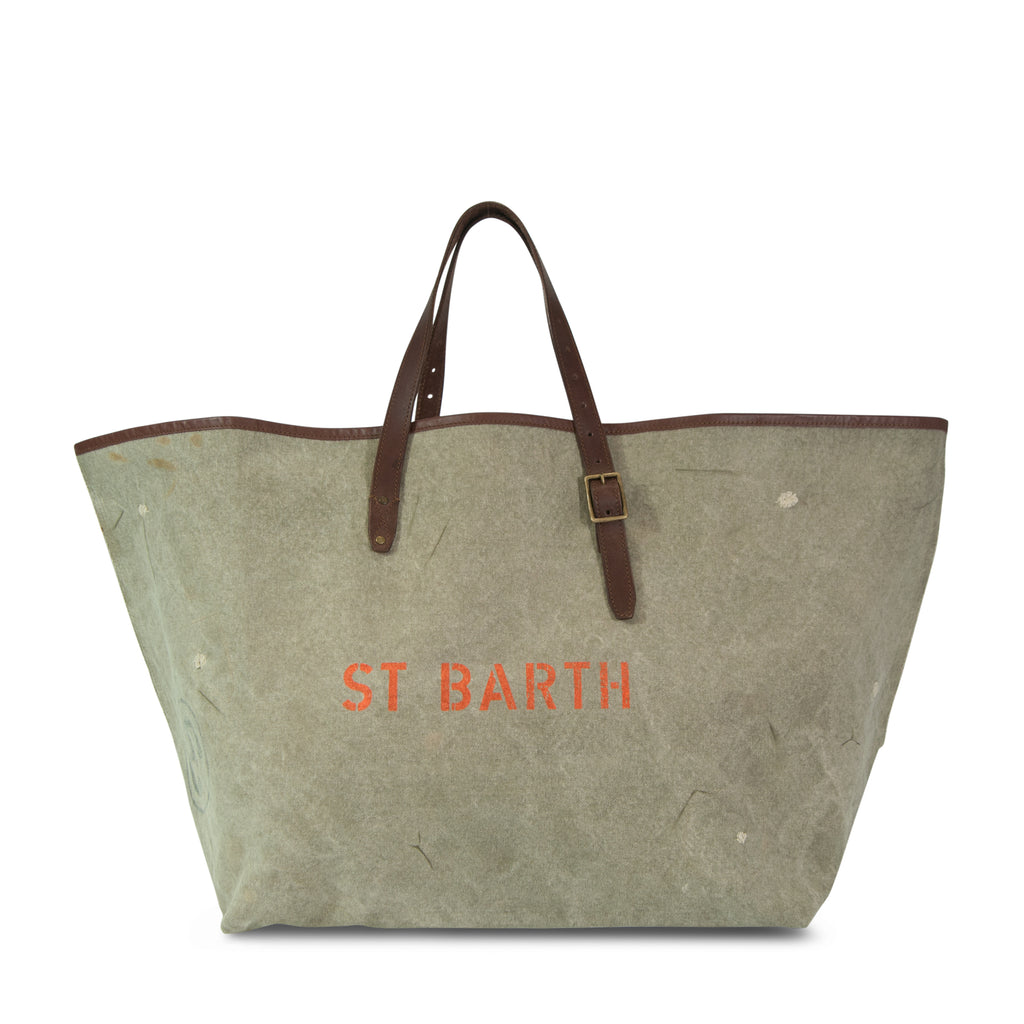Postal Beach Bag - ST BARTH - Small