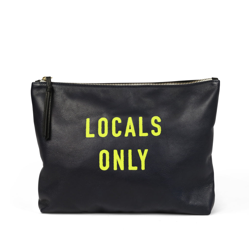 """Locals Only"" Medium Pouch"
