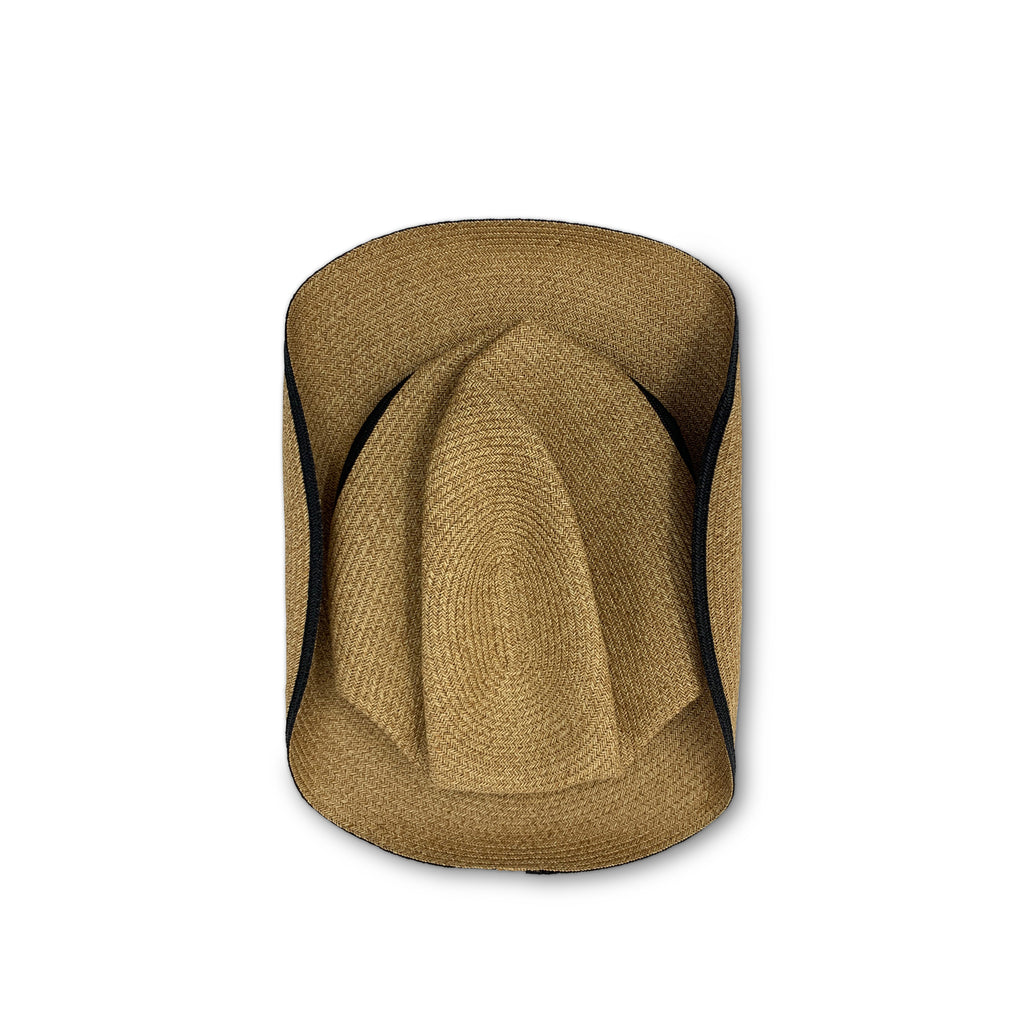 Boxed Hat - Mix Brown with Black Switch