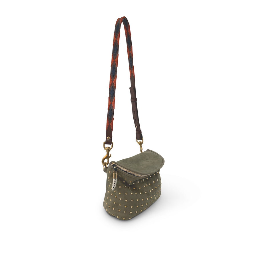MINI WINDBOURNE -DRIFTWOOD STUDDED NUBUCK
