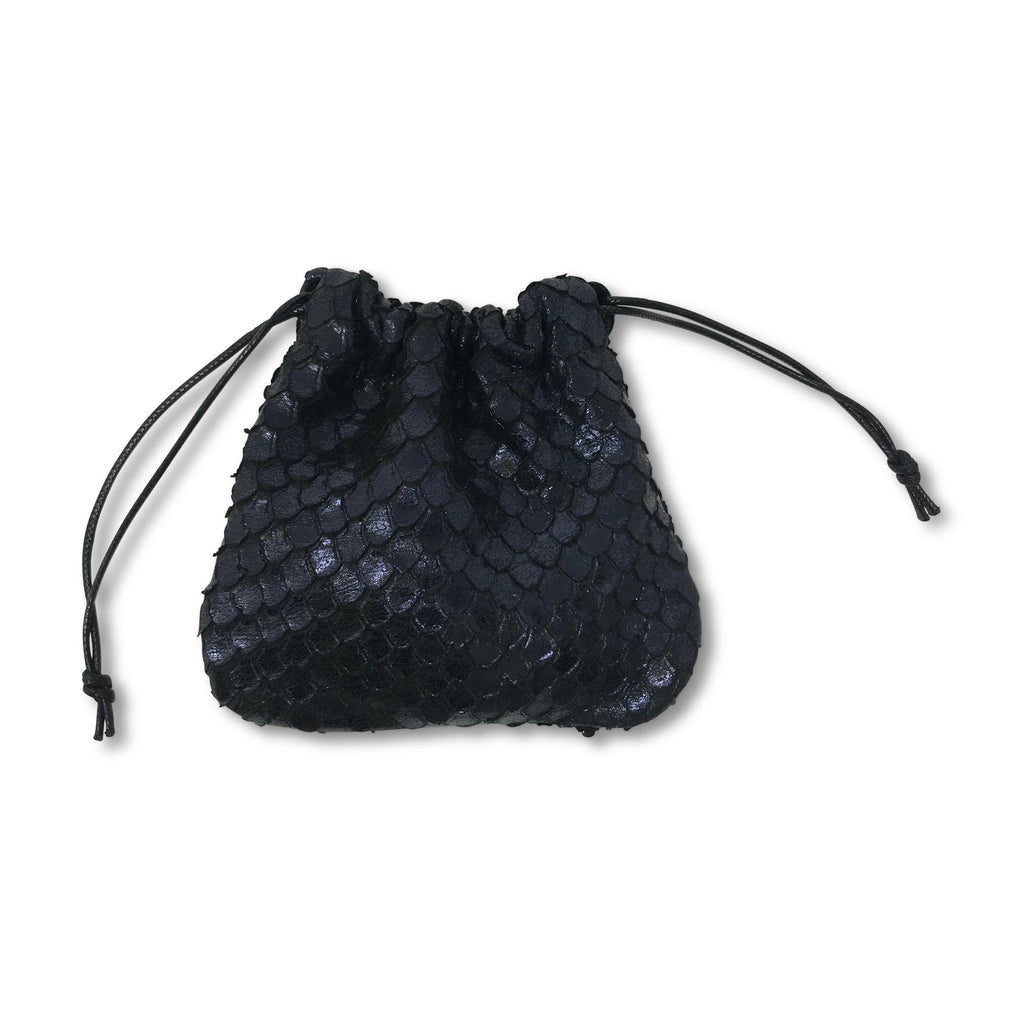 Kempton & Co. Mini Pouch Metallic Cobra Midnight