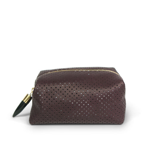 Kempton & Co. Mini Pouch Oxblood Reverse