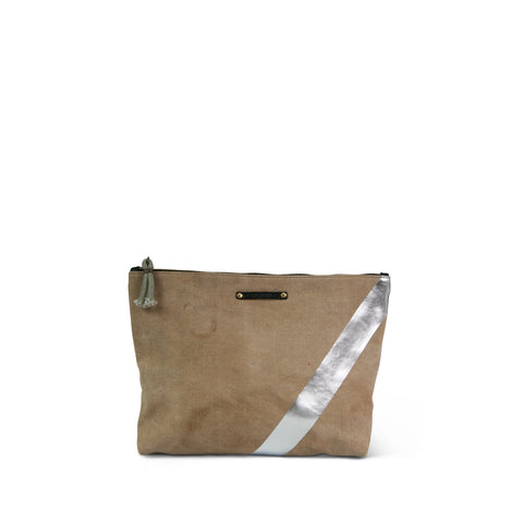 Postal Gold Stripe Crossbody