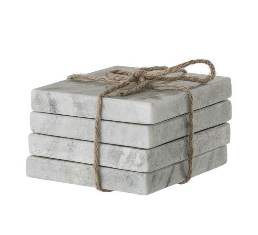 Square Marble Coasters