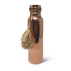 Copper Water Bottle w/Tassel