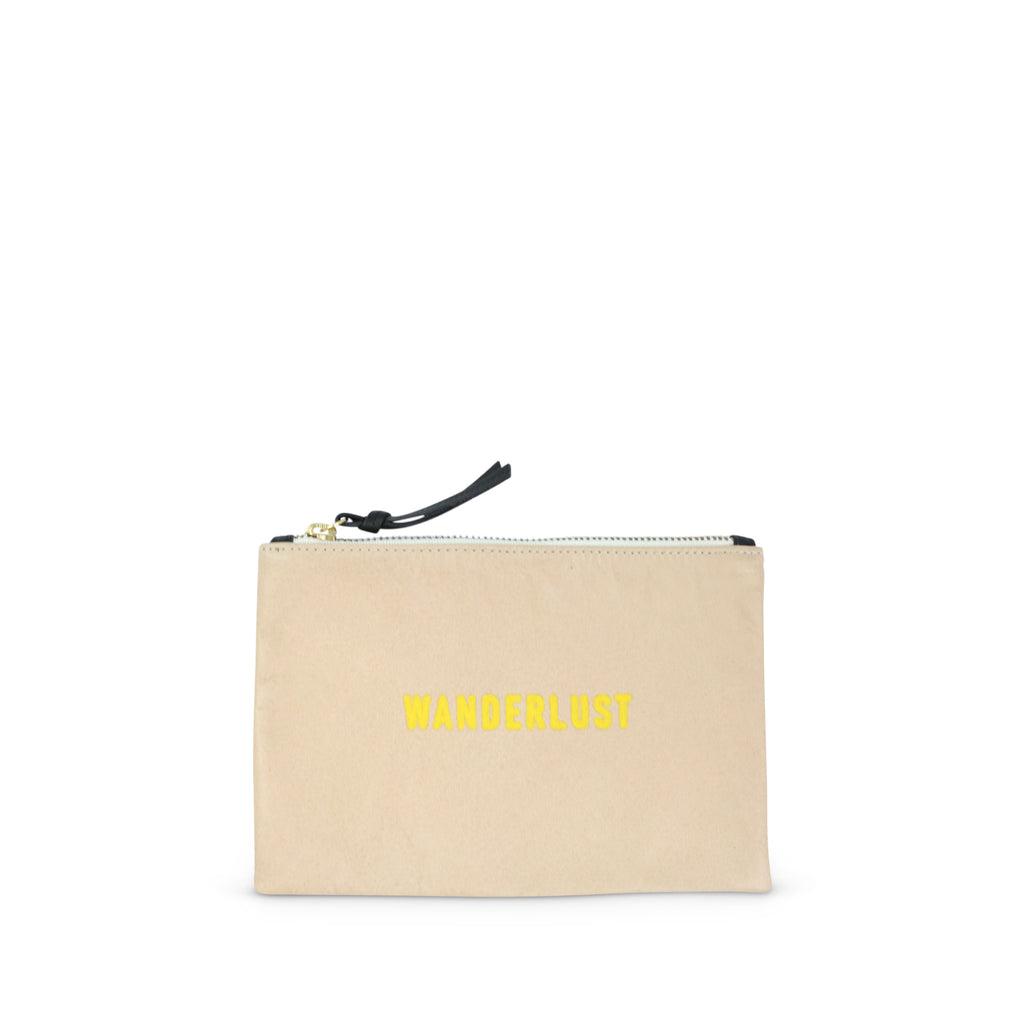 "SAMPLE SALE 2019 - ""Wanderlust"" Small Pouch (ALL SALES FINAL)"