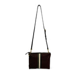 Oxblood Petite Lizard Harford Crossbody