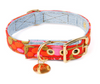 VINTAGE TULIP DENIM CAT & DOG COLLAR designed by FOUND MY ANIMAL