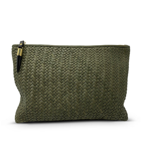 Tresco Small Pouch - Butter & Chalk