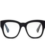 Miklos Matte Black Glasses - PWR 1.5