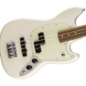 Fender Mustang Bass PJ in  Olympic White