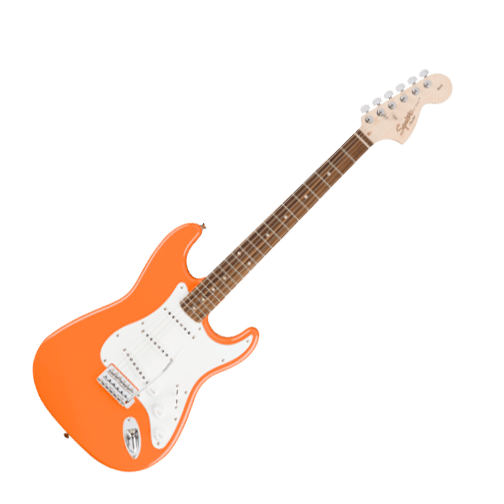 Squier Affinity Series Stratocaster Guitar in Competition Orange