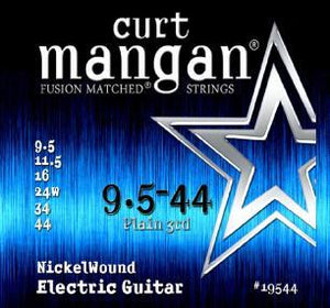Curt Mangan Nickel Wound 9.5-44  Electric Guitar String Set