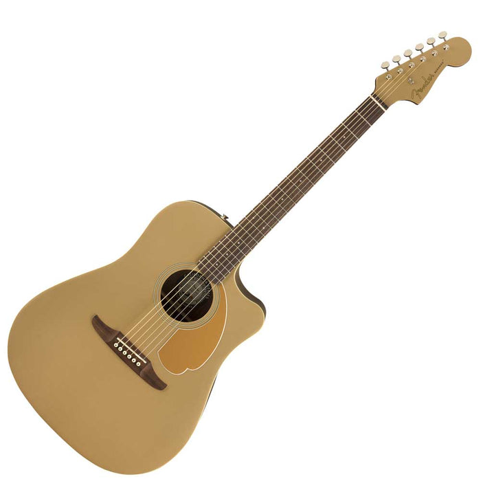 Fender Redondo Player Acoustic Guitar, Bronze Satin