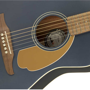 Fender Malibu Player Acoustic Guitar, Midnight Satin