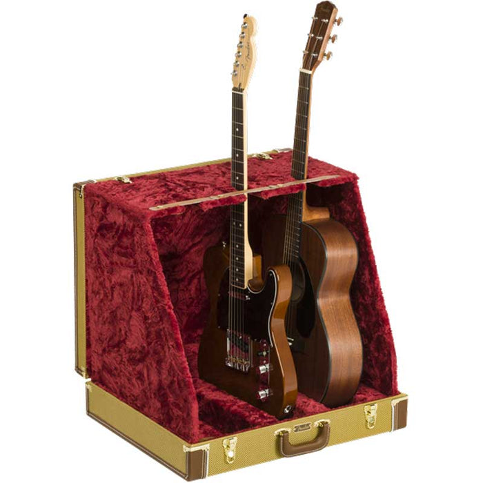 Fender Classic Series 3 Guitar Case Stand  - Tweed