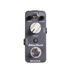 Mooer Pedals USA  Shim Verb Digital Reverb  Micro Effects
