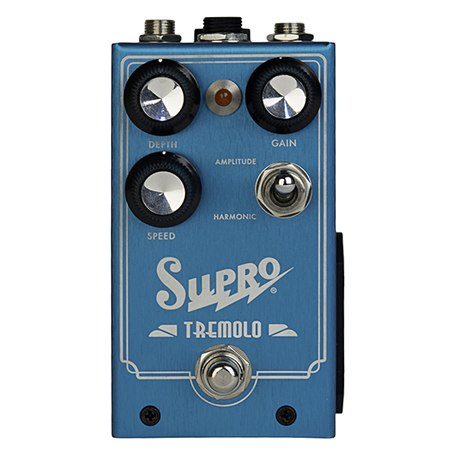 Supro Tremolo Analog Stompbox Pedal