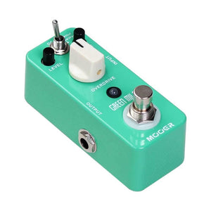 Mooer Pedals USA Green Mile Overdrive Micro Effects