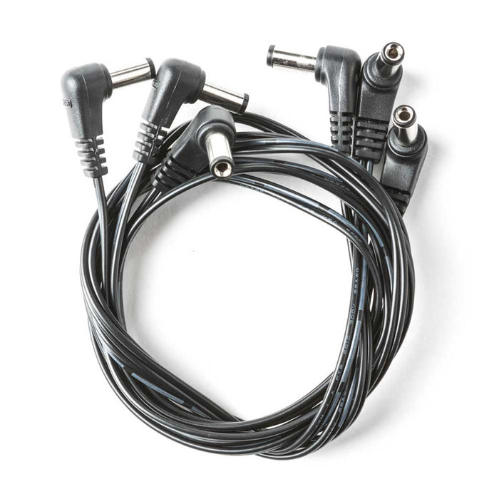 Dunlop ECB299 Power Distribution Cable Male to Male Right Angle