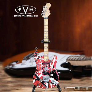 "Axe Heaven EVH ""Frankenstein""  Eddie Van Halen Mini Guitar Replica Collectible"