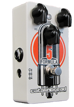 Catalinbread Formula No 5 Foundation Overdrive Effects Pedal
