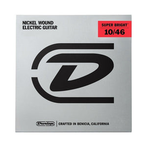 Dunlop Nickel Wound Super Bright 10-46 Electric Guitar String Set