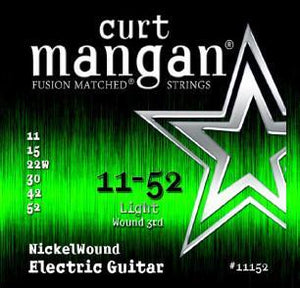 Curt Mangan Nickel Wound 11-52 Electric Guitar String Set