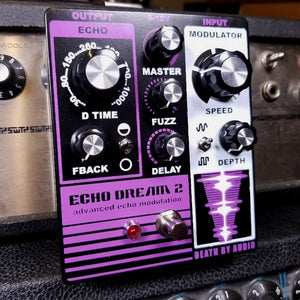 Death by Audio Echo Dream 2 Delay Pedal