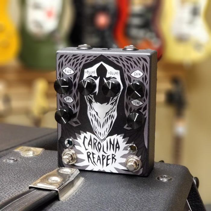 Cusack Music - Haunted Labs Carolina Reaper Overdrive/Fuzz Pedal