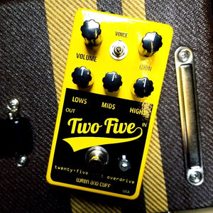 Wren and Cuff - Two Five Drive Boost Pedal
