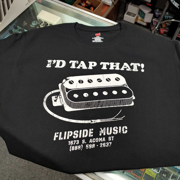 Flipside Music Gear I'd Tap That! Humbucker Shirt