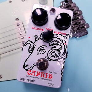 "Wren and Cuff Small Foot Caprid ""73 Rams Head"" Fuzz"