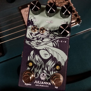 Walrus Audio Julianna Analog Stereo Chorus/Vibrato Effects Pedal