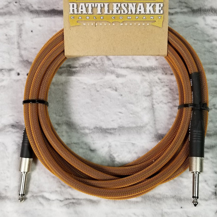 Rattlesnake Cables 15' Copper w/Straight Plugs