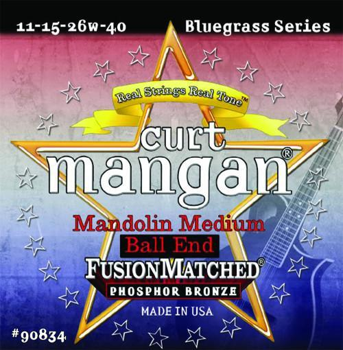 Curt Mangan Medium Ball End Phosphor Bronze Mandolin String Set
