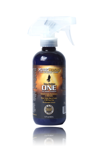 Music Nomad - The Guitar ONE All in One Cleaner, Polish & Wax (12 oz.)