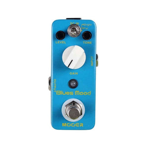 Mooer Pedals USA  Blues Mood Overdrive  Micro Effects