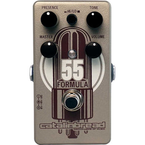 Catalinbread Formula No. 55 Tweed Deluxe Foundation Overdrive Pedal