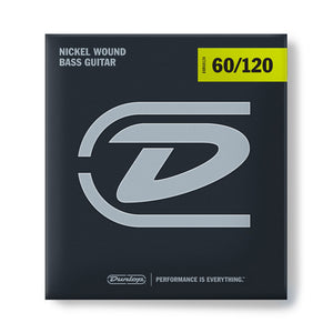Dunlop DBN60120 Heavy Bass Strings 60-120 Nickel Wound