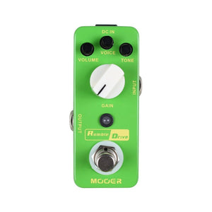 Mooer Pedals USA Rumble Drive Overdrive Guitar Distortion Effects Pedal