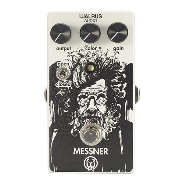 Used: (NOS) Walrus Audio Messner Light-Gain Overdrive Pedal