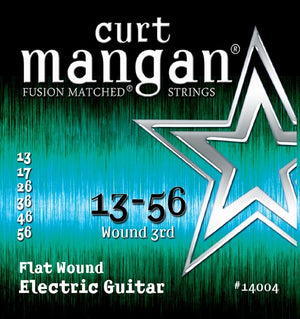 Curt Mangan Flatwound Electric Guitar String Set 13-56