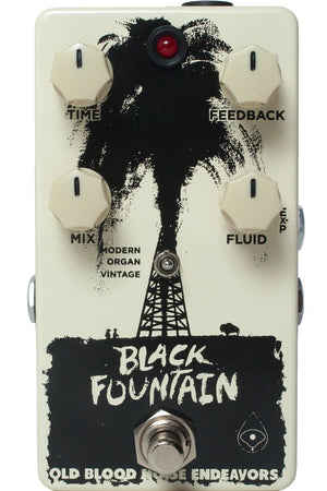 Old Blood Noise Endeavors Black Fountain Oil-Can Delay