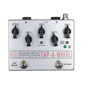 Cusack Music Tap-a-Whirl V.3 Analog Tap-Tempo Tremolo Effects Pedal