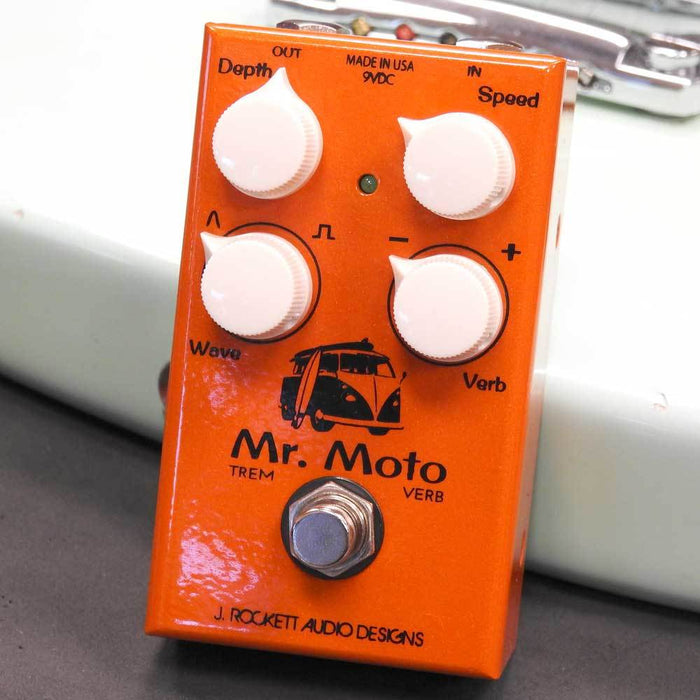 J. Rockett Audio Designs Mr. Moto Tremolo and Reverb Pedal