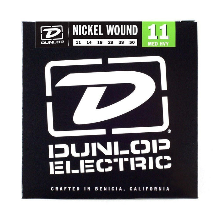 Dunlop Nickel Wound 11-50 Electric Guitar String Set