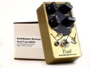 EarthQuaker Devices Hoof Fuzz Guitar Effect Pedal