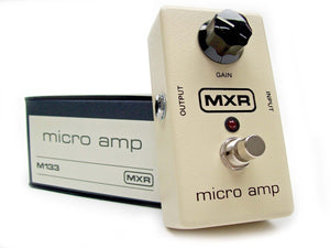 MXR M133 Micro Amp Clean Boost Guitar Effect Pedal