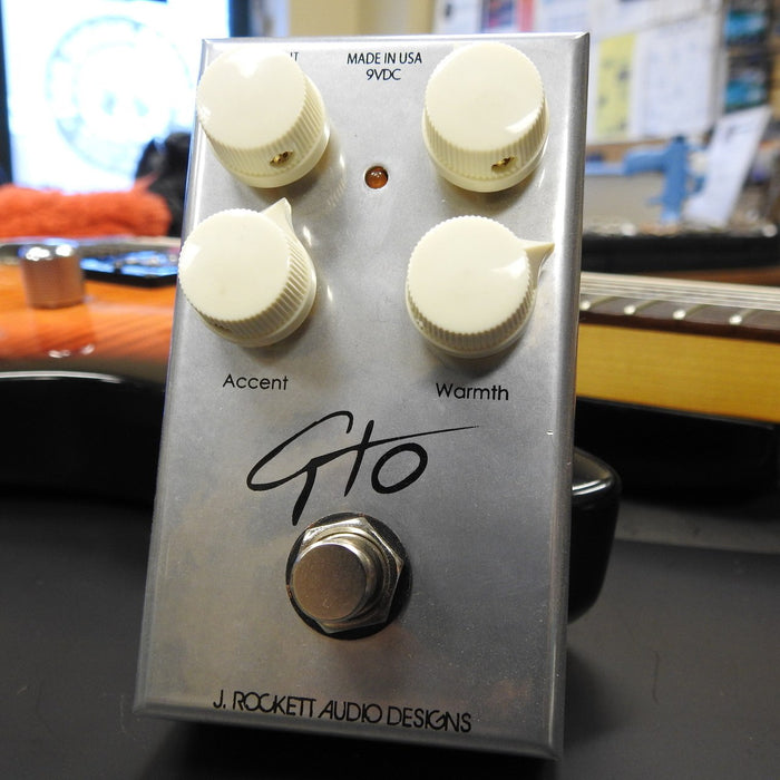 J. Rockett Audio GTO (Guthrie Trapp) Overdrive Pedal